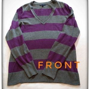 Gap Luxe V-Neck Sweater
